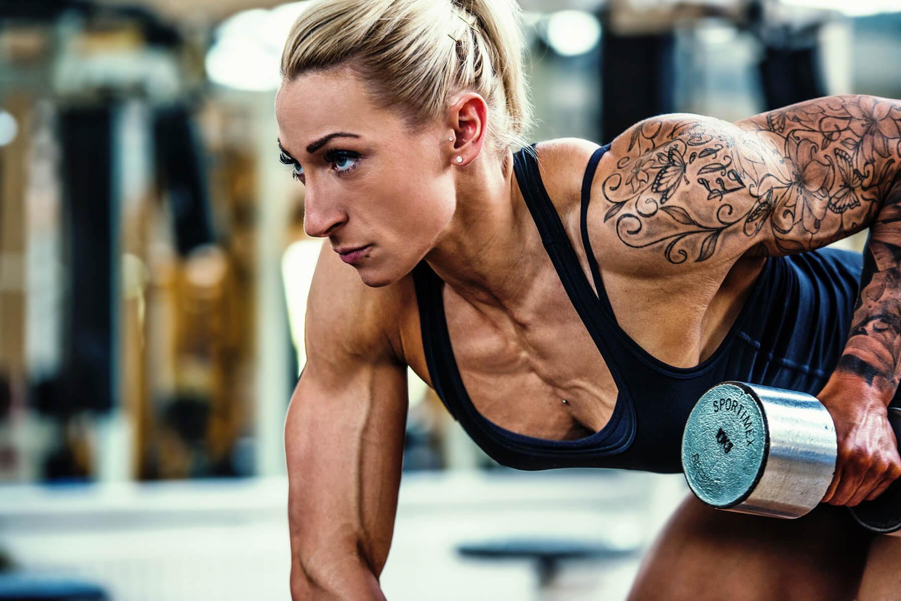 Fitness und Bodybuilding Vivien Papke