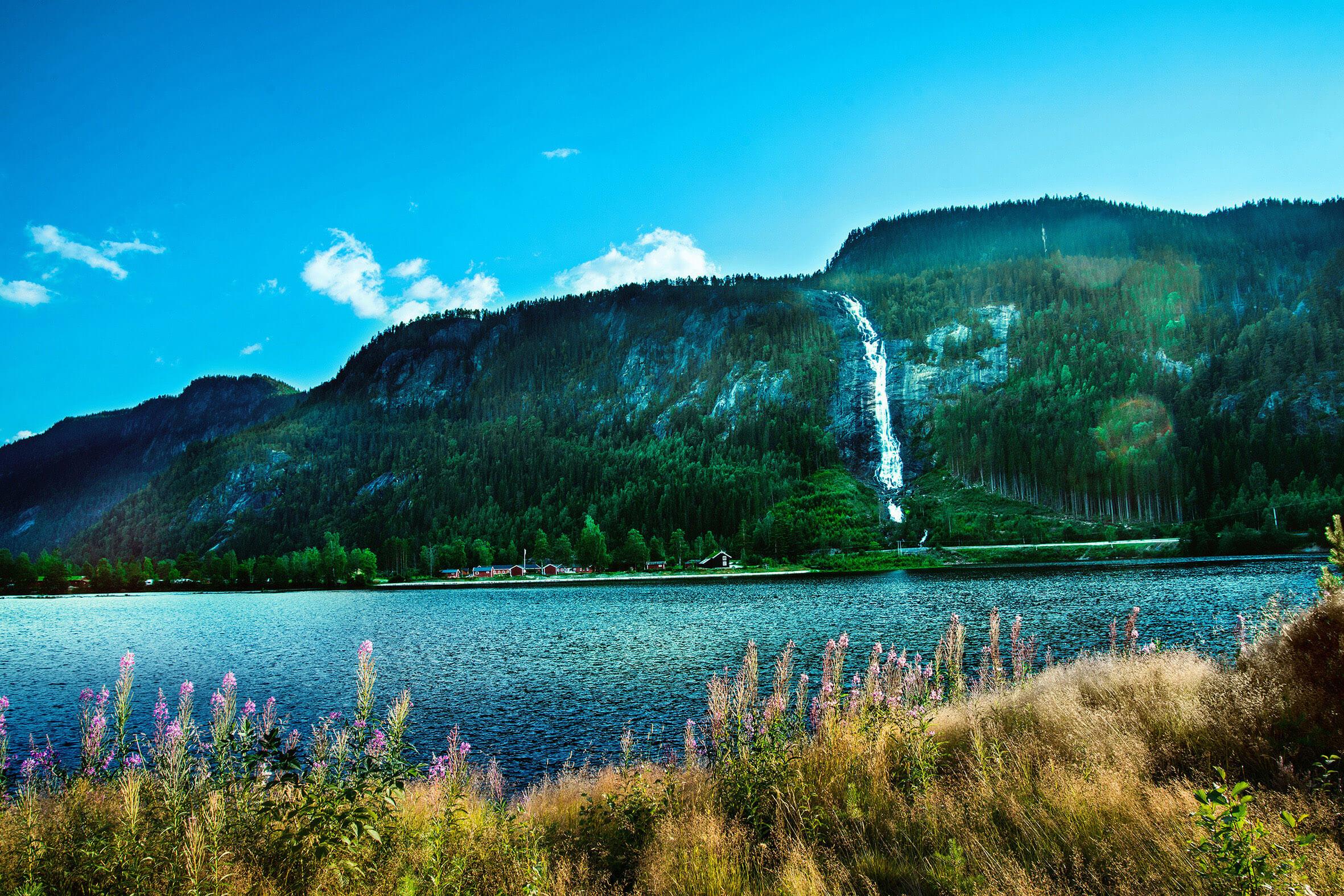 Landschaften Skandinaviens