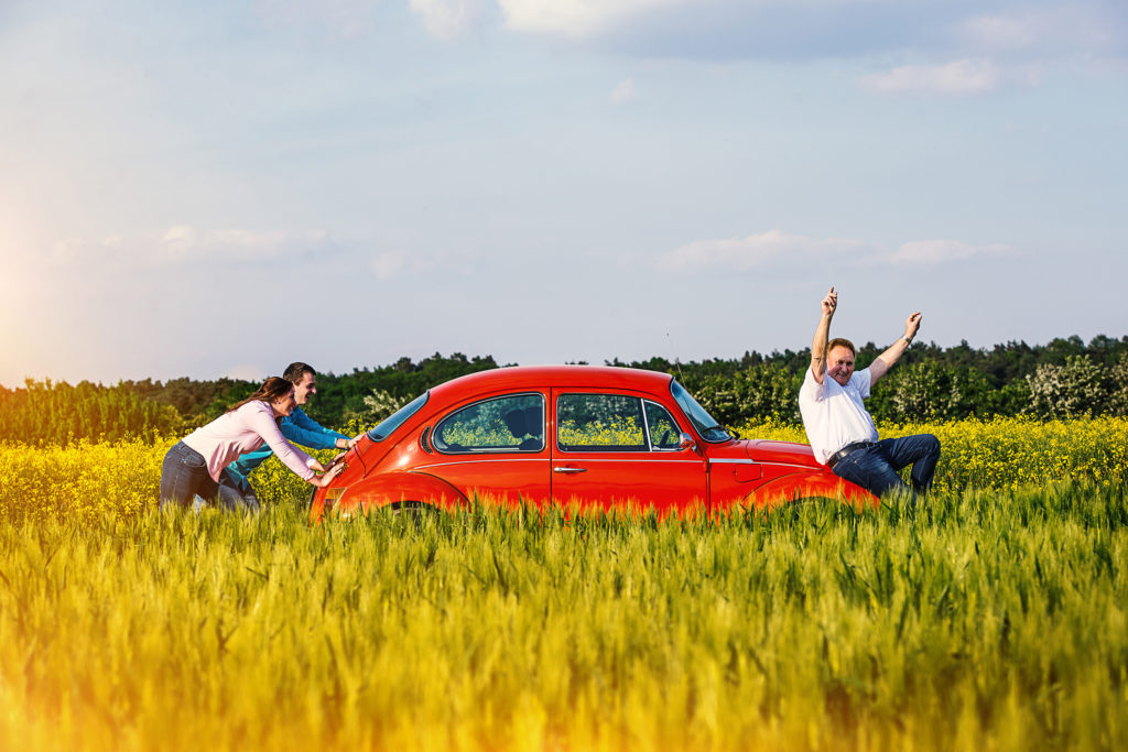 VW Käfer Familie